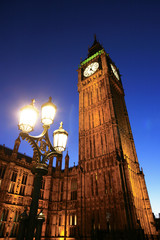 Wall Mural - Big Ben, Palace of Westminster