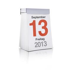 Freitag Dreizehnter September