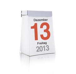 Freitag Dreizehnter Dezember