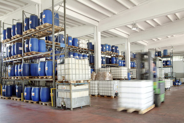 stock of chemicals