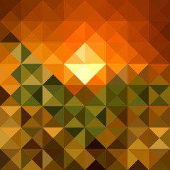 Foto auf Acrylglas ZigZag Autumn season triangle seamless pattern background. EPS10 file.