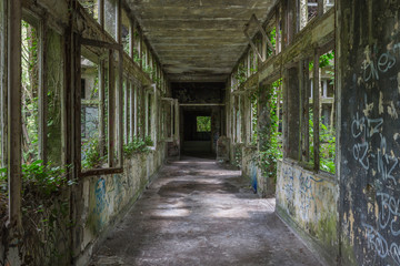 abandonned hospital