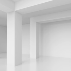 White Interior Background
