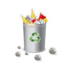 recycle garbage bin