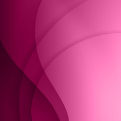 Purple smooth twist light lines vector background.
