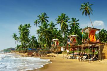 Goa's idyllic beach