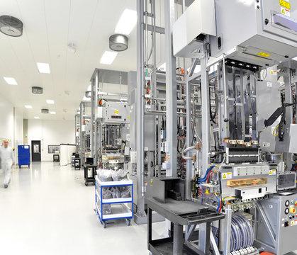 Hightech Industriebetrieb // Hi Tech factory
