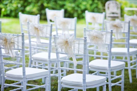 decorative wedding chairs