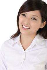 Happy smiling businesswoman