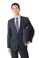 Young businessman of Asian