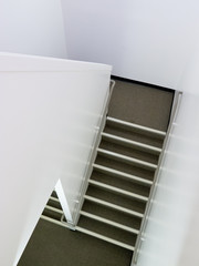 Staircase inside building architecture abstract