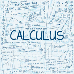 """CALCULUS"" Theme (mathematics math maths function science notes)"