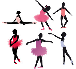 Petites danseuses classiques