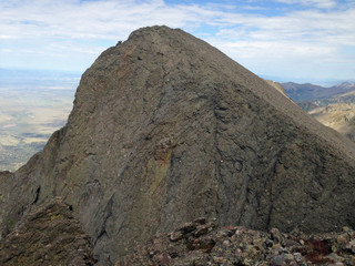 Challenger Point from Kit Carson Mountain in Colorado