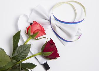 Herrfliege und Rosen