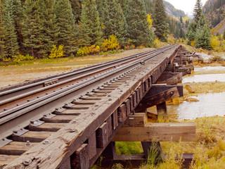 Wall Mural - Railroad Tracks