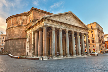 Pantheon in Rome, Italy Fototapete