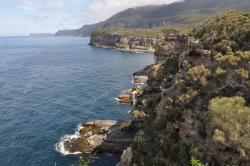Beautiful Coastline in Tasmania, Australia