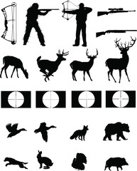 Hunters and the Hunted silhouettes collection
