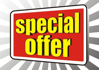 sale special offer