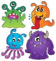 Image with monster theme 1