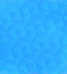 Blue pattern of geometric shapes