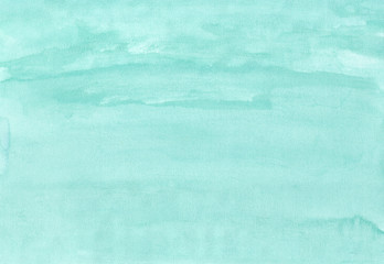 Blue-green watercolor texture