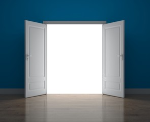Door to new opportunity