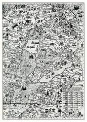 Livonia on the 1572 map (Antonio Lafreri, Rome)