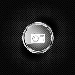 Photo camera web icon