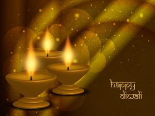 religious background design for diwali festival