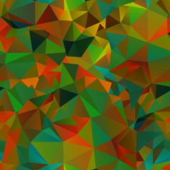 Abstract seamless background of polygons