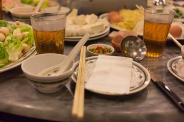 Sukiyaki - Japanese Dinner
