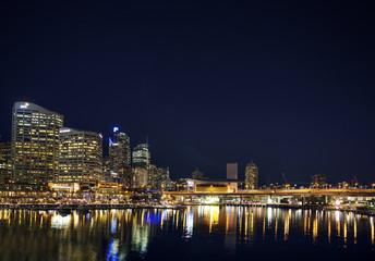 darling harbour in sydney australia