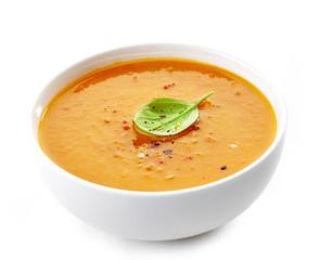 Bowl of squash soup