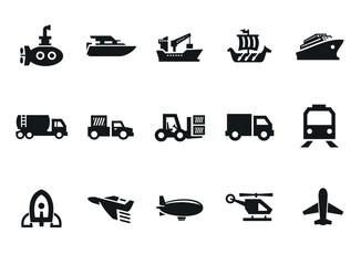 Transportations vector