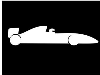 Fototapete - F1 Racing