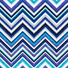 Poster ZigZag seamless chevron pattern