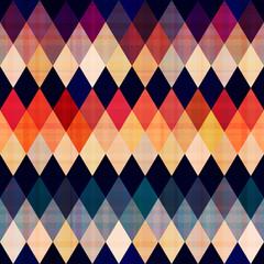 colorful seamless argyle pattern