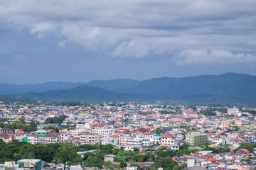 Landscape of view in Chiang rai province, Thailand