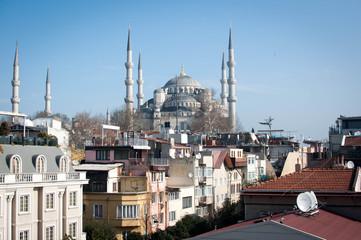 Die Sicht über Istanbul