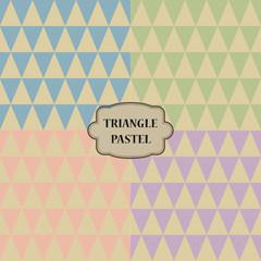 Triangle Pastel
