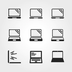 Laptop icons
