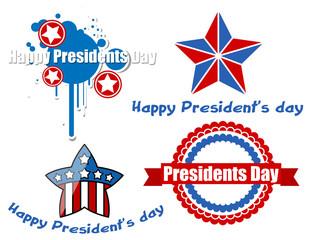 Happy Presidents Day Vector Design