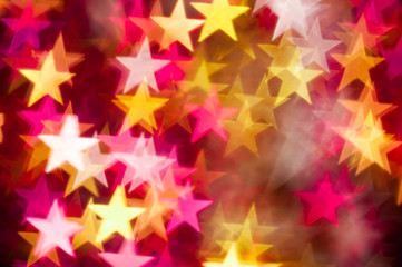 red and yellow stars