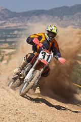 motocross dust