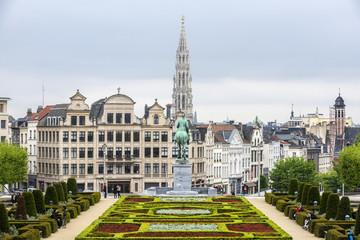 Keuken foto achterwand Brussel The Mount of the Arts in Brussels, Belgium.