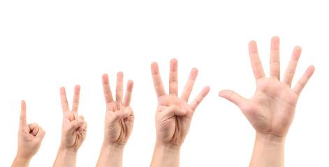 Score on the finger.