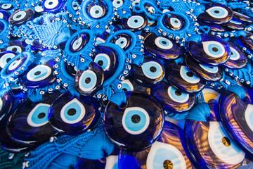 Printed roller blinds Turkey Evil Eye Amulet