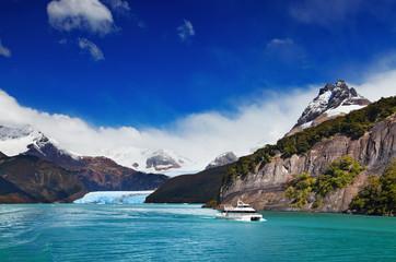 Wall Mural - Spegazzini Glacier, Argentino Lake, Patagonia, Argentina